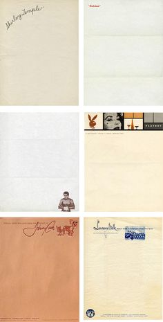 celebrity stationery: via annie clark designer