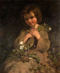 Wild Flowers, James Sant, R.A., Date unknown