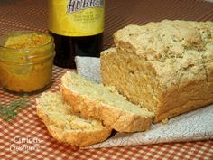 Mustard Dill Beer Bread from Curious Cuisiniere
