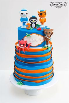 Cake Images With Name Anand : 1000+ images about An Octonauts Birthday Party on ...