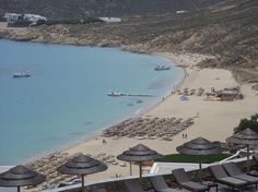 Life is better at the beach... In Mykonos!
