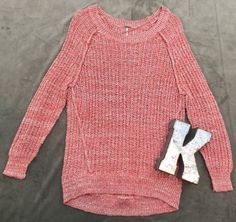 Free People Boho Knit Sweater Women's Sz XS* #FreePeople #Crewneck