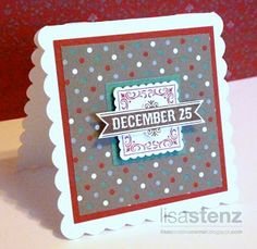 Lisa's Creative Corner: Holidays from the Heart Blog Hop