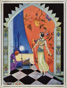 1001 arabian nights Virginia Frances Sterrett illustration