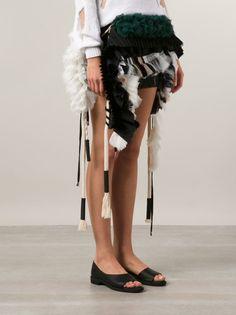 ANNE SOFIE MADSEN - Assemblage Mini-Skirt - SS15-402 BLACK - H. Lorenzo