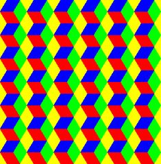 Examples of tessellations - triangular grid_ online genereator