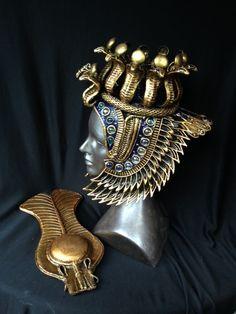 Cleopatra Headpiece / Galleries | Organic Armor