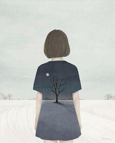 Choi Mi Kyung / ENSEE  digital painting