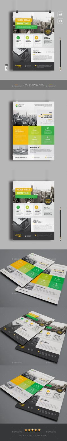 #Flyers - #Corporate Flyers Print Design, Web Design, Graphic Design, Brochure Design, Flyer Design, Business Flyer Templates, Business Flyers, W Logos, Text Fonts