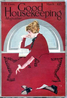 Coles Phillips : Cover art for Good Housekeeping, March 1913