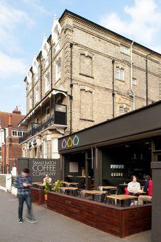 Coffee in Brighton - #restaurant #design \