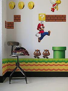 Wall Stickers: Nintendo New Super Mario Bros