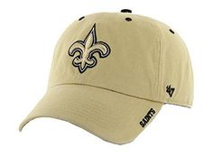 NFL New Orleans Saints Embroidered Ice Cap Hat Adjustable Gold Who Dat 19015c0db