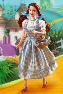 The Wizard of Oz™ Dorothy Barbie® Doll Pop Culture Dolls - View Collectible Barbie Dolls From Pop Culture Collections | Barbie Collector