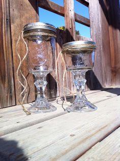 Set of 4 Hillbilly Redneck Wine Glass 8 oz or 16 oz - Great for Christmas, Weddings or Birthday Gift by SallysBrushofArt, $28.00
