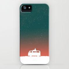 Quiet Night - starry sky iPhone & iPod Case by Budi Satria Kwan - $35.00