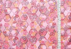 JENEAN MORRISON  Lovelorn hexagons grey von kleinkariert-stoffversand auf DaWanda.com