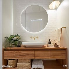 Home Interior Industrial 5 bathroom trends about to be huge according to The Block - Vogue Australia.Home Interior Industrial 5 bathroom trends about to be huge according to The Block - Vogue Australia Bathroom Trends, Bathroom Renovations, Home Remodeling, Bathroom Ideas, Bathroom Organization, Remodel Bathroom, Bathroom Designs, Bathroom Storage, Spa Bathroom Decor