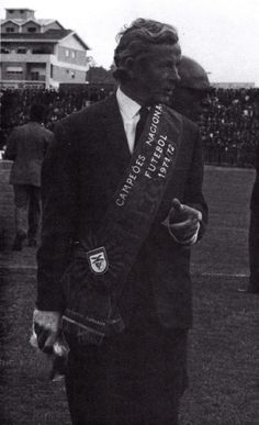 Jimmy Hagan, treinador campeão nacional de 1971/72.