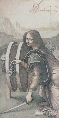 Wheel of Fortune - Da Vinci Tarot