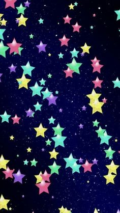 Star Wallpaper Patterns Magic Ipad Background Pretty Backgrounds Cell Phone Wallpapers Colorful Stars