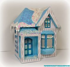 3D Winter Chill House from SVGcuts.