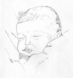 MIo figlio Alessandro disegno a matita di Signori Gessica