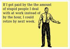 Work humor