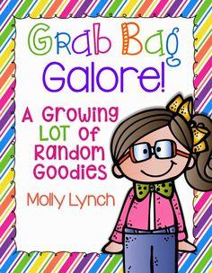 Grab Bag Galore! Random goodies to help your 1st grade classroom! Growing bundle so it's a surprise each week :)