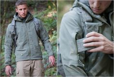Stealth Hoodie LT by TAD. Weatherproof, tough, lightweight.