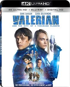 Valerian and the City of a Thousand Planets 4K (2017) UHD Ultra HD Blu-ray