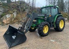 Traktor John Deere 6400/Q660 čelný nakladač John Deere 6400, 4x4, Diesel, Vehicles, Tractor, Diesel Fuel, Car, Vehicle, Tools