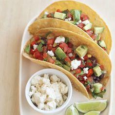 Black Bean Tacos with Avocado Salsa | Williams-Sonoma
