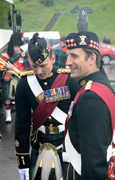 Ceremony of the keys, Palace of the Holyrood, Scotland