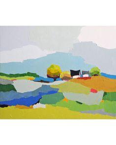 An Original Fine Art Gallery by Daily Paintworks Landscape Art, Landscape Paintings, Walker Art, Fine Art Gallery, All Art, Painting Inspiration, Bunt, Watercolor Art, Modern Art