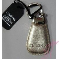 Lewitzky arany  bőr kulcstartó swarovszkival Personalized Items