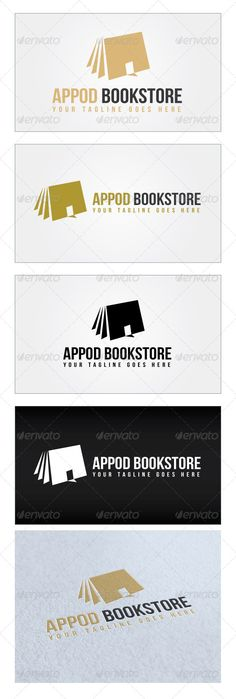 Appod Bookstore Logo Template