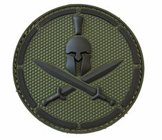 morale patches | Milspec Monkey Spartan Helmet PVC Velcro Tactical Morale Patch MSM