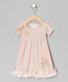 Look what I found on #zulily! Blush Pretty Petals Dress - Infant #zulilyfinds