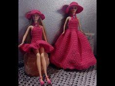 borsettina - how to make a little bag Barbie Dress, Barbie Clothes, Barbie Patterns, Barbie House, Crochet Videos, Barbie World, Little Bag, Crochet Clothes, Free Crochet