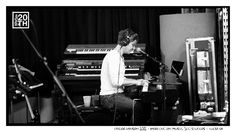 Photo 228 of 365  Taylor Hanson 2012 - Working on music, 3CG Studios - Tulsa OK	    In this pic Taylor is working on music in our 3CG Studios. Time for more music geek questions. What kind of keyboard is sitting on top of the b3 organ in the background of this pic?    #Hanson #Hanson20th