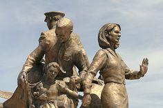 Texas: 9/11 Flight Crew Memorial Love this memorial! Practically in my backyard.
