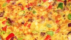 Mediterranean omelette (Mfl style) Weight Loss Eating Plan, Easy Weight Loss, Free Meal Plans, Lunch Menu, Mediterranean Style, Everyday Food, Omelette, Eating Plans, Meal Planning