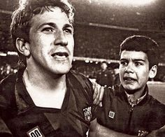 16 April 1986 There was a special night for ball-boy Josep Guardiola. It was Champion Clubs' Cup 1986 semifinals second round against Swedish team IFK Goteborg. Barça had lost the first round 3-0 in Sweden, but in a magical night in Barcelona, striker Pichi Alonso scored a hat-trick and drew the qualifying round. It was time for the penalty shootouts, and when Víctor Múñoz score the last one classifying FC Barcelona for the final, Guardiola started running and entered to the field to hug…