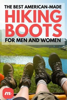 Looking for the best American-made hiking boots for men and women? Check out our list of the top choices on today's market. Best Hiking Boots, Hiking Boots Women, Hiking Shoes, Outdoor Outfit, Outdoor Gear, Danner Boots, Sewing Machine Reviews, Stylish Boots, Trail Shoes
