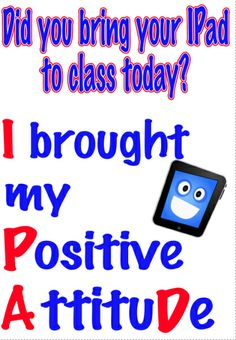 Ipad:to class - Elementary Tech Teachers Computer Lab Posters, Computer Class, Beginning Of School, Back To School, School Bulletin Boards, Ipads, Educational Technology, Classroom Management, Language Arts