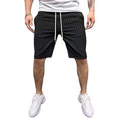 5a0c55416b29 Dilicwa Pantaloni Corti Uomo Sportivi Estate Shorts Uomo Sportivi Cotone Estivo  Uomo Lavoro Short Pantaloni Corti