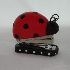 Ladybug Mini Stapler