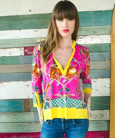 Retro Rodeo Tunic Top - Tops - Apparel Collection