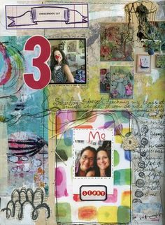 Art Journaling with Roben-Marie Smith - part of the Art-Full Attache Workshop